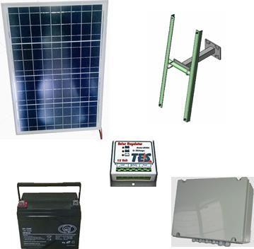 kit panneau solaire pour d5 sector motorisations pour portails coulissants ab automatismes. Black Bedroom Furniture Sets. Home Design Ideas