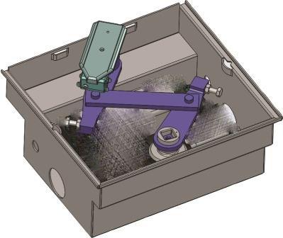 kit caisson autoportant pour operateur combi 787 inox motorisations pour portails battants. Black Bedroom Furniture Sets. Home Design Ideas