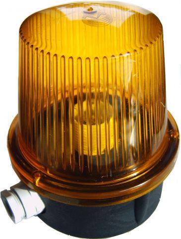 Fixe Ou Clignotante Lampe A Signalisation 24 Orange V De Led NOm8n0wv